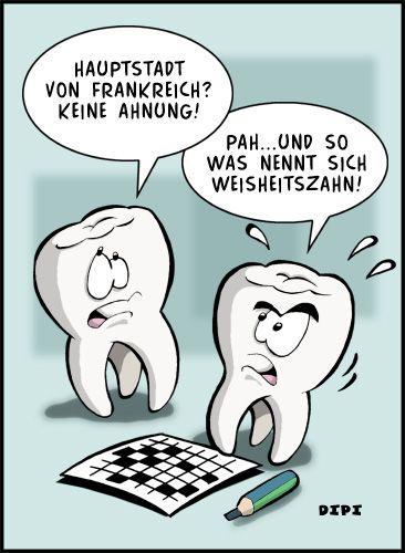 Zahnarzt-Humor