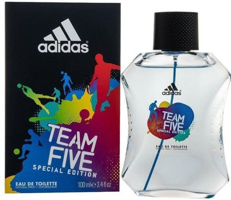 Wholesale USA Original Adidas Team Five 3.4 Edt Sprays Wholesalers Personal care Trade Supplies
