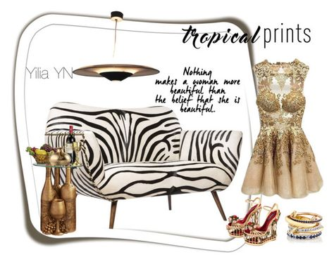 """""""Gold today"""" by yyuan11 ❤ liked on Polyvore featuring interior, interiors, interior design, home, home decor, interior decorating, Emporium Home, Dolce&Gabbana and SPINELLI KILCOLLIN"""