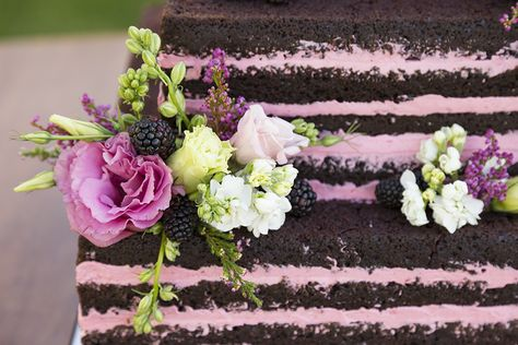 It's official brides: naked cakes are here to stay! But while the idea behind them is the same as your typical wedding cake, there are a few important details that make it pretty different from a cake that's frosted. The Knot's blog highlights a few things to know before taking the naked cake plunge.