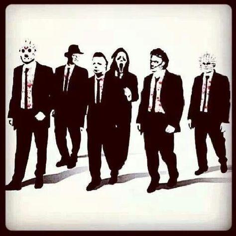 Jason, Freddy, Michael, Scream, Leatherface and Pinhead