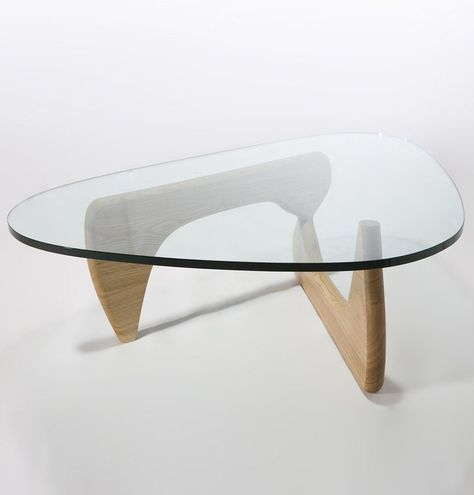 Triangle Coffee Table Material: 19mm tempered glass top ; solid wood base Dimensions: W 125cm x D 90cm x H 40cm