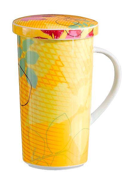 Tazzine da caffè, tazze da the, set lattiera e zuccheriera, barattoli e contenitori per caffè e servizi completi per la colazione in porcellana, in terracotta, in ceramica decorata a mano.