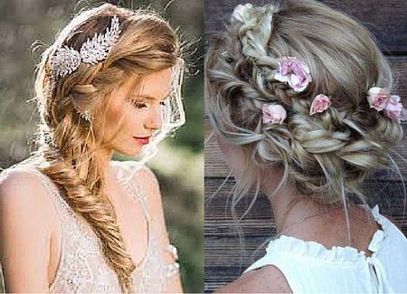 Pin Von Rose Auf Wedding Hair And Make Up Hochzeitsfrisur Boho Hochzeitsfrisuren Haare Hochzeit
