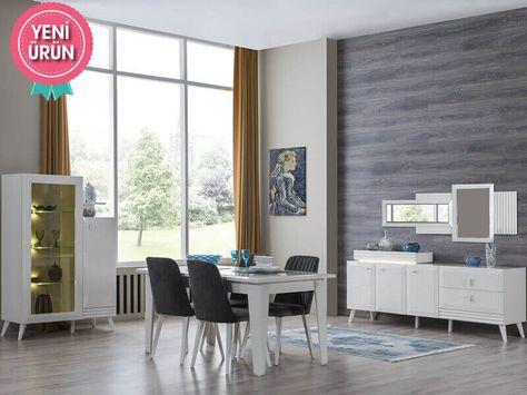Wohnzimmereinrichtung ideen bilder  50 besten Modern Yemek Odası Bilder auf Pinterest | Stil, Modernes ...