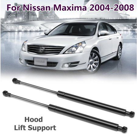 2x Hood Lift Supports Shocks Struts Gas Springs for 04-08 Nissan Maxima
