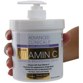 Nature Well Clinical Retinol Advanced Moisture Cream 16 Oz Walmart Com In 2020 Brightening Cream Anti Wrinkle Facial Skin Care Cream