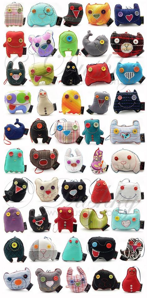 Monster Toys by Dushky