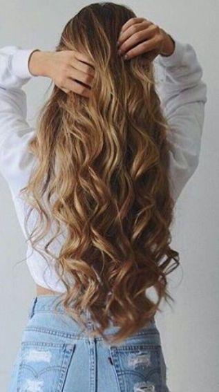 Beach Waves Make Such Cute Hairstyles For Long Hair Curls For Long Hair Easy Hairstyles For Long Hair Short Hair Styles Easy
