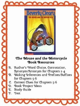 This Resource Contains 1 Author S Word Choice Connotation Synonym Antonym For Chapters 1 4 2 Making Inferences And Pre Context Clues Word Choice Inference