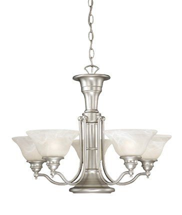 Lighting Stores Omaha >> Omaha Traditional 6 Light Shaded Chandelier Chandelier