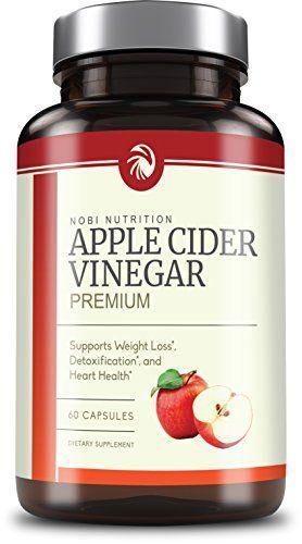 Buy Nobi Nutritions Apple Cider Vinegar Pills 350mg All Natural