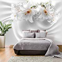 Murando Fototapete Blumen Lilien 350x256 Cm Vlies Tapete