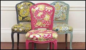 Resultado de imagen de telas para tapizar sillas de comedor ...