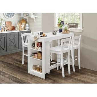 Meidinger Dining Table Counter Height Dining Table Solid Wood