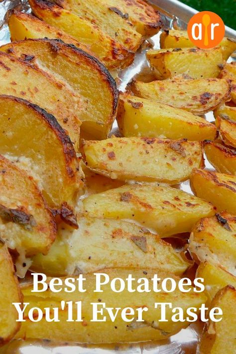 """The best potatoes you will ever try """"This is a wonderful . - The best potatoes you will ever try """"This is a wonderful change from simple potatoes … # - Potato Sides, Potato Side Dishes, Veggie Side Dishes, Vegetable Dishes, Vegetable Recipes, Food Dishes, Vegetarian Recipes, Cooking Recipes, Healthy Recipes"""