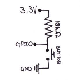 Electronic circuit diagram for connecting a momentary-on ... on