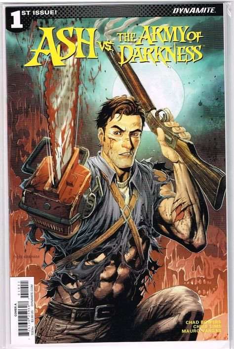 The Army of Darkness #0 Cover A NM Dynamite Comic Vault 35 Ash vs