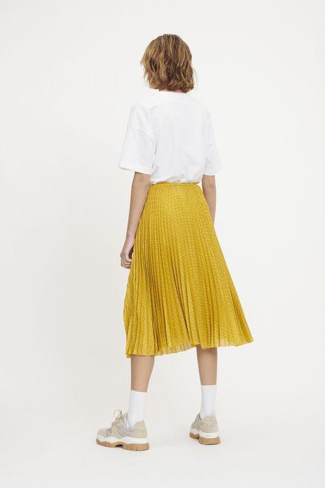 Skjørt fra COS, str 40   Skirts, Corduroy skirt, Corduroy