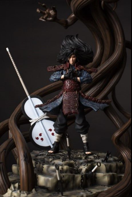 Buy All Fan Merch Online Madara Uchiha Miniature Figurines Naruto