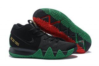quality design 96879 8843e Hot Selling Nike Kyrie 4 Black Green Red Men's Basketball ...