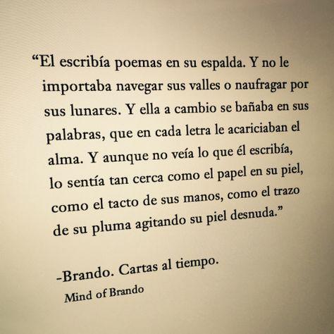 Cartas al tiempo - Brando