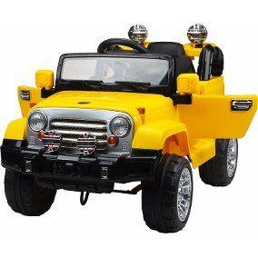 Carro Jipe Jeep Eletrico Infantil 6v C Buzina E Sons Nf C A