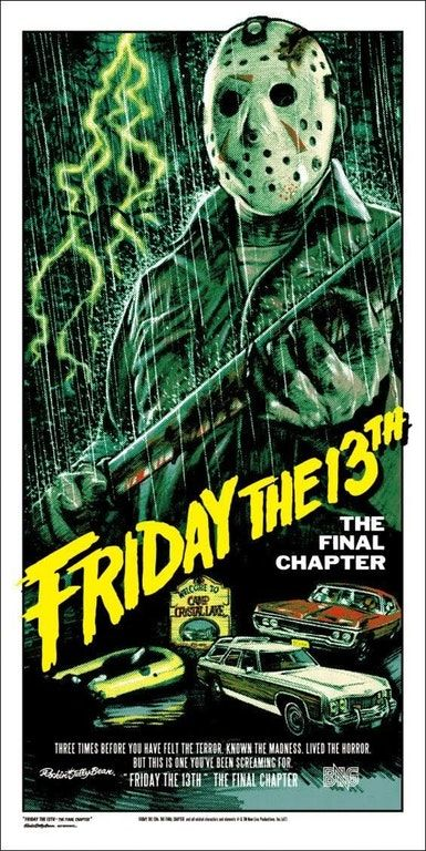 New York Times Features Awesome Retro Friday The 13th Posters Horror Posters Friday The 13th Poster Horror Movie Posters