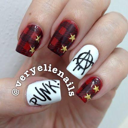 All Time Low Nails Nail Art Punk Band Nails Future Hearts