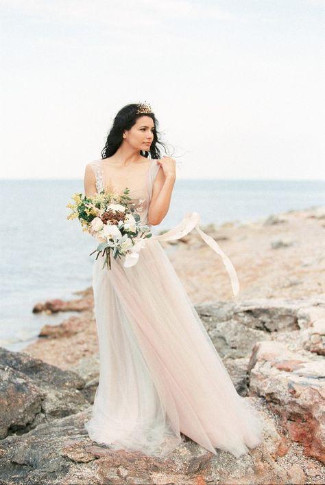 Joy♥️ This gorgeous styled shoot by @moonevents.eu is featured on @bajanwed ✨ Planning, Design & Styling@moonevents.eu Film processing@carmencitalab Wedding Dress@otiliabrailoiu Wedding Headpiece@katerinimou Flowers & Cake@carti_dulciuri_si_flori Stationery & Calligraphy@charmink.calligraphy Silk Ribbons@froufrouchic Table Rentals@orzflowers Bride: Ana Bam Hair & Makeup / Ana Bam   #weddingday#beautiful#destinationwedding#gorgeous#thatsdarling#bride#coastalwedding