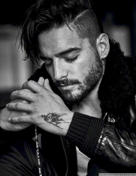 Maluma photographed by Matthew Brookes for Vogue Hombre Mexico.