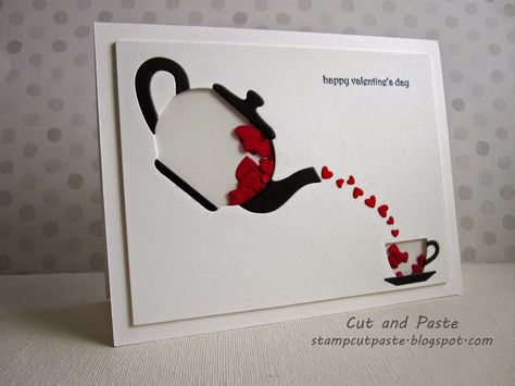 Cut and Paste: Cup of Love Shaker Card