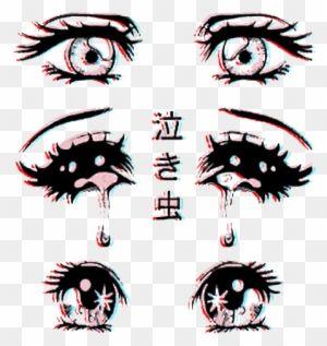 Sad Anime Eyes Png