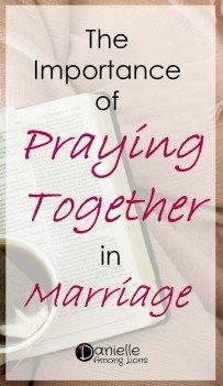 Praying Together in Marriage | Christian Living | Godly