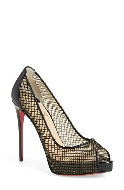 Christian Louboutin Shoes Summer 2016 . $115 #CL #Louboutins #Shoes ---  inserts that hold back the foot from sliding forward can make these lovely Louboutin's wearable for many more hours - the best inserts are from Killer Heels Comfort