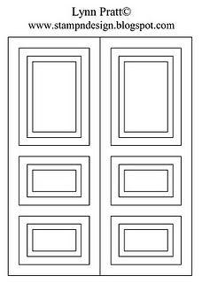 template for the door card  sc 1 st  Pinterest & Gate fold door card - Christmas card ideas... | Cards | Pinterest ...