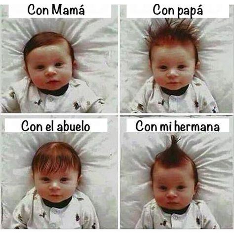 Peinados del bebé