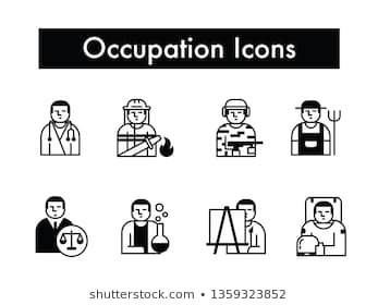 Occupation Or Job Icon Occupation Job Icons Job Simple