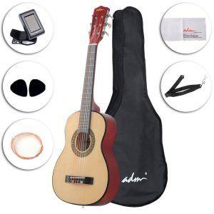 5 Best Guitars For Beginner Child Music Central Best Guitar For Beginners Guitar Reviews Guitar For Beginners
