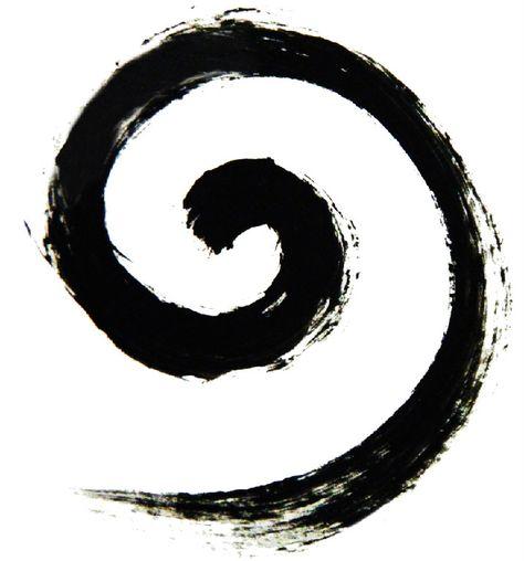 Koru ~ a spiral shape fern of New Zealand.  Symbolizing new life, growth, strength and peace.