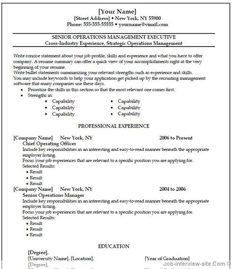 ☆ Instant Download ☆ Resume Template \/ CV Template  - what is the profile section of a resume