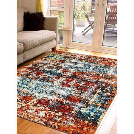 Rugsotic Carpets Machine Woven Heatset Polypropylene 5 X8 Area Rug Oriental Caramel M00037 Walmart Com Area Rugs Rugs Area Rug Sizes