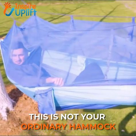 Treehouse Mosquito Net Hammock 😍  Love the idea of relaxing in a hammock, but hate those pesky bugs that won't leave you alone? Now, we've added this ingenious, Treehouse Mosquito Net Hammock with netting that easily zips around the hammock to give you 360 degrees of protection from irritating bugs! The mosquito net can be easily removed so that you can use the hammock separately and just relax!  Currently 50% OFF with FREE Shipping!