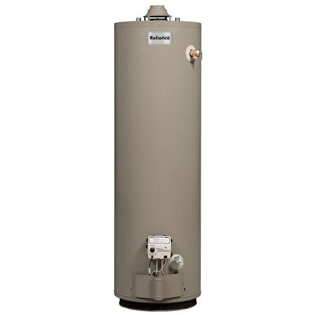 Reliance 6 40 Poct 58 1 4 Inch 40 Gallon Propane Water Heater Multicolor Natural Gas Water Heater Locker Storage