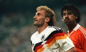World Cup Stunning Moments Frank Rijkaard And Rudi Voller Barry Glendenning Frank Rijkaard Sports Photograph World Cup
