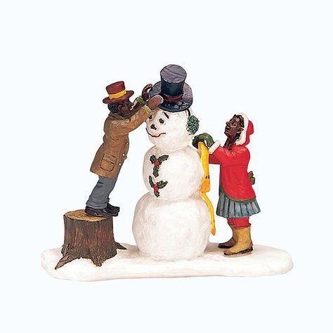 LEMAX CHRISTMAS VILLAGE ELVES DECORATING CHRISTMAS TREE LOT 214 NIB