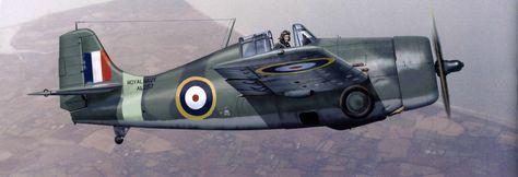 F4F Wildcat de la Royal Navy en las Islas Orcadas. En la Royal Navy se le llamaba Martlet.