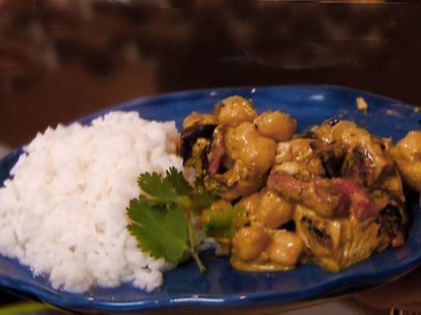 Chicken Curry With Chickpeas Recipe Food Pinterest Curry