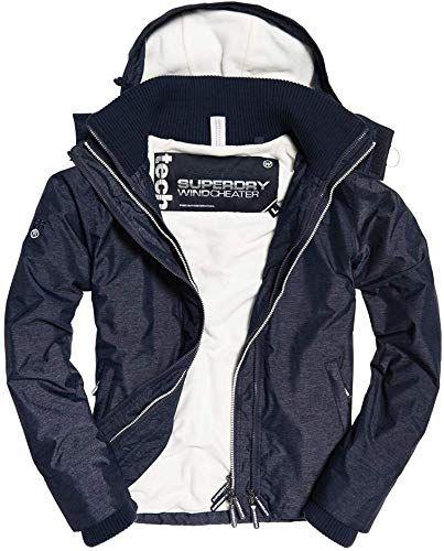 pop zip hooded arctic windcheater jacke superdry