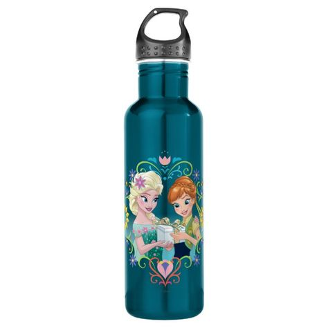Anna and Elsa | Gift for Sister Water Bottle #disney #elsa #walt #disney #frozen #WaterBottle